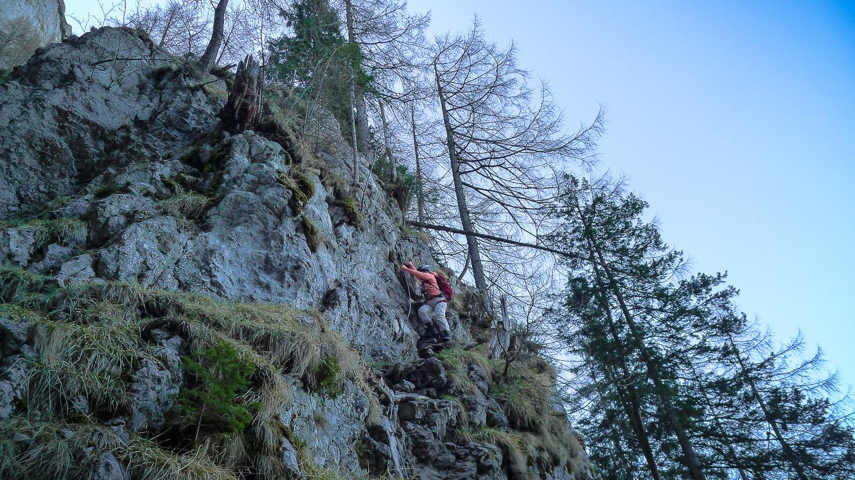 Klettersteig Hochlantsch : Naturfreunde klettersteig c hochlantsch u alpenlandmagazin