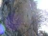 Schöne Felsen am Wege (von der Schlüsselstelle aus gesehen).