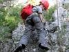 Zwischendurch: leichte Kletterei