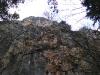 Die Krumme Ries führt über diesen Felsen.