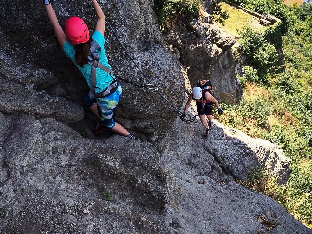 Klettersteig Riegersburg : Leopold klettersteig c riegersburg u alpenlandmagazin