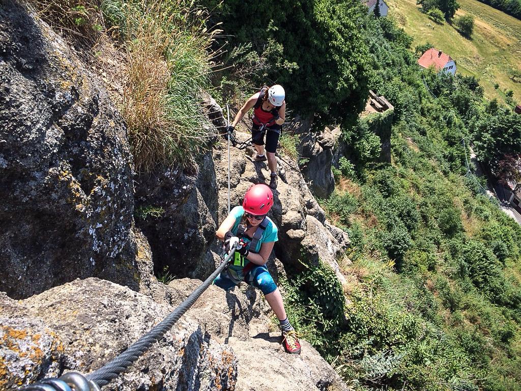 Klettersteig Riegersburg : Leopold klettersteig c riegersburg klettersteige wandern