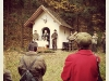 Hubertuskapelle (fotografiert vor einigen Wochen bei der Hubertusmesse)