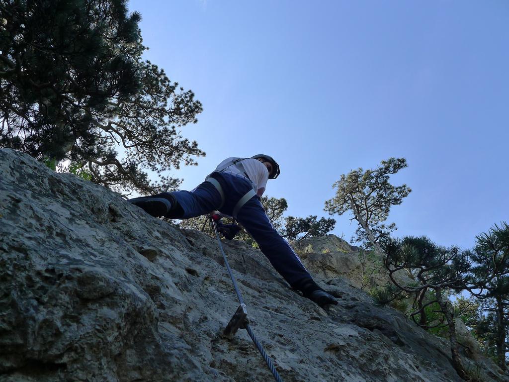Mödlinger Klettersteig : Mödlinger klettersteig b c klettersteige wandern