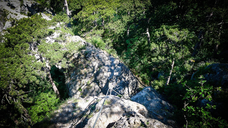 Mödlinger Klettersteig : Mödlinger klettersteig b c und ruine burg mödling