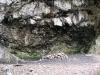 Höhle zwischen Teil I und Teil II