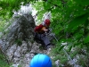 Einstieg in die Matterhornstiege