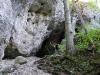 Neben dem Türkenloch: eine Halbhöhle.