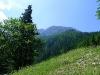 Ausblick von der Bergstation.