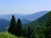 Die Sesselbahn bringt einen auf rund 1.300 Meter Seehöhe.