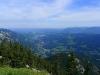 Aussicht von der Bergstation der Seilbahn