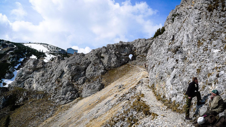 Klettersteig Rax : Über den törlweg auf die rax und was man dabei haben muss
