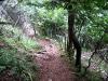 Die Völlerin ist eigentlich ein gut gesicherter Weg, kein Klettersteig.