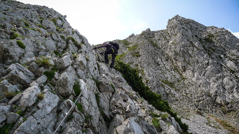 Klettersteig Rax : Gamsecksteig a b rax klettersteige wandern bergsteigen