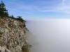 Ein Nebelmeer und ...